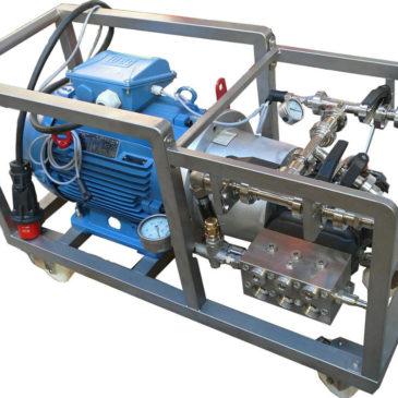 Motopompe haute pression
