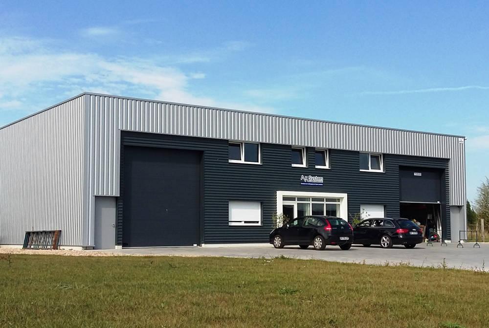 Le siège social AX system à Bailleul (Hauts de France)