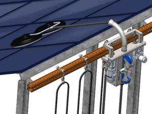 Nettoyage automatisé de panneaux solaires