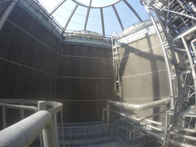 Air Cooled Condenser Cleaning for Veolia UK
