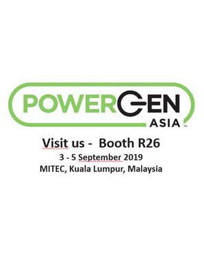 Meet us at Power Gen Asia show from September 3 to 5th