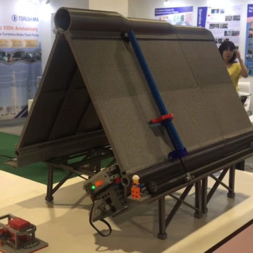LEGO mock-up at POWERGEN Asia !