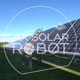 Robot AX Solar pour le nettoyage des panneaux solaires