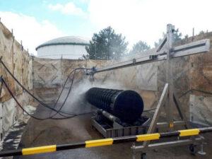 Nettoyeur d'échangeur thermique externe