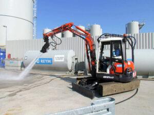 nettoyage industriel haute pression