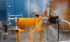 Nettoyeur échangeur thermique automatisé